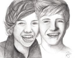 Harry and Niall :) by RomcaS