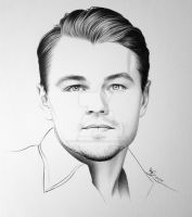 Leonardo DiCaprio by FromPencil2Paper