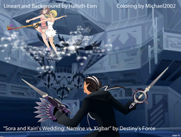 Collab: Namine vs. Xigbar by x-Destinys-Force-x