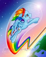 RAINBOWDASH by rubenreyes