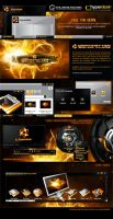 DarkMatter: Solar Flare Theme by skinsfactory