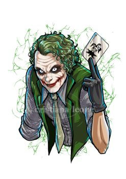 The Joker by CristianaLeone