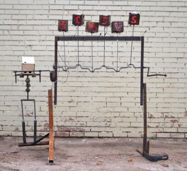 Interactive circus sign by CharlesVitic