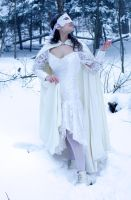 lace, snow, look up by eyefeather-stock