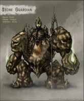 Stone Guardian by rlaing