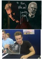 James Marsters and Painting by jeminabox