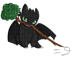 Toothless by OMGProductions