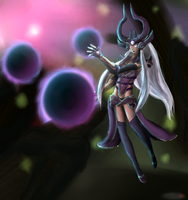 Syndra - League of Legends by Inlinverst
