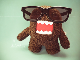 Domo Kun by blackbirdhorus
