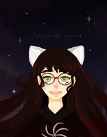 The Witch of Space by peach-pulp