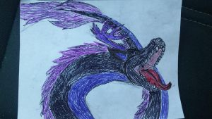 Thydraconis Feral doodle by Thy-Wolf