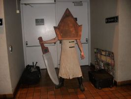 Pyramid Head - ConBravo Cosplay by SelenaEde