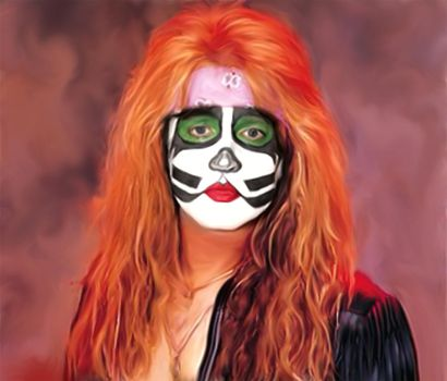 Eric Singer from KISS by petnick