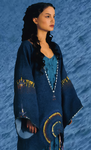 Padme Amidala Skywalker (Tatooine blue dress) by Simverse
