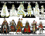 CHESS PIECE Fantasy Adopt Set [CLOSED] by azume-adopts
