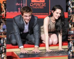 Pattinson foot and handprint ceremony  3 nov 2011 by Maysa2010