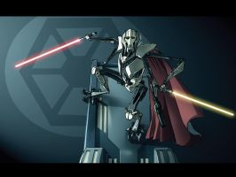 Shums General Grievous by dcjosh