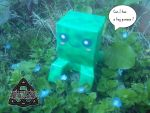 Minecraft Chibi Creeper Papercraft by HellswordPapercraft