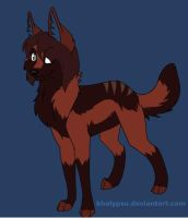 sally as a wolf by Kairiwolf14