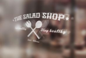 The Salad Shop Logo by Sith4Brains