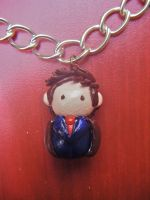 10th Doctor Charm by KatKatDreamer95