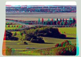 Harz Outland 3D ::: HDR Anaglyph Stereoscopy by zour