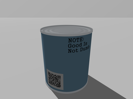 Sealed Good In A Can - back by Roxor128