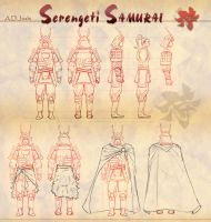 Serengeti Samurai- Turnarounds by Atomic-Hermit