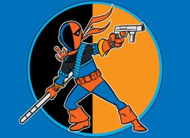 deathstroke by AlanSchell