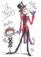 Willy Wonka by Necrida7
