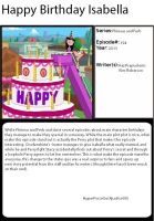 1001 Animations Happy Birthday Isabella by HyperForceGo