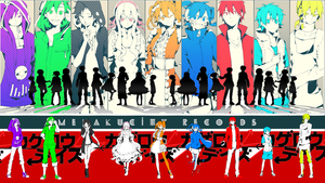 Kagerou Project Wallpaper by LunarCountdown