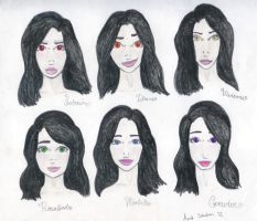 The Six Princesses Of Tallura by crazysneakygurl23