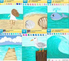 Draw Something!!! (sea edition) (Day 100) by Hedwigs-art