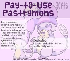 :Pay-To-Use Pastrymons(30 points): by PrePAWSterous