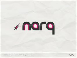 narQ logo by mD-06