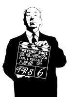 alfred hitchcock by manishmansinh
