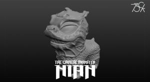 nian-chinese-monster WIP (part 2)