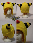 +FleeceHat:Sold+ Ampharos. by Stephys-Adoptables