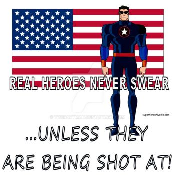 Real Superheroes Never Swear by tvcrazyman