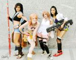 Girls of FFXIII by otakitty