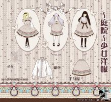 ~COURTYARD~lolita dress design by ASingleGiraffe
