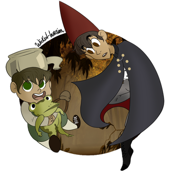 Over The Garden Wall by PhantomhiveeArc