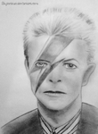 David Bowie by skylenblue