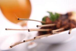 satay's sticks by Alvin-Bake