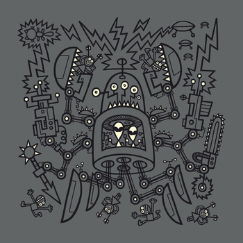 Evil Crabkillbot from Crab Nebula Against Humanity by TehStr4ngeOnes