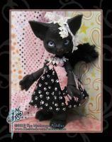 Ebony - Scratch the Cat BJD by TheMushroomPeddler