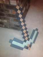 Minecraft Pickaxe IRL by CamdenMI