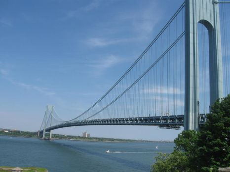 Verrazano-Narrows Bridge. by xxGeass-Zeroxx