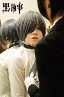 Ciel Phantomhive: Still doll by Lishrayder